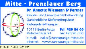 Wiemann, Annette, Dr.  u.  Partner
