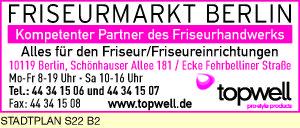Logo von Topwell Friseurmarkt Berlin