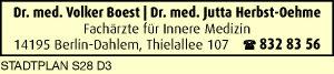 Boest, Volker, Dr. und Dr. Jutta Herbst-Oehme