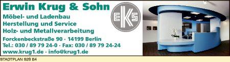 Logo von Krug & Sohn GmbH & Co KG, Erwin
