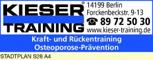 Logo von Kieser Training Wilmersdorf