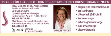 Reles, Angela, Privatdozentin Dr. med.