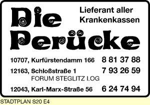 Die Perücke K + K Gilsenbach GmbH