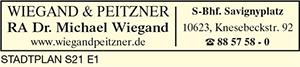 Wiegand & Peitzner, Dr. Michael Wiegand