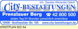 City-Bestattungen, Inh. Daniela Winiarski-Gehrt