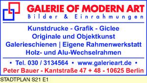 Bauer, Peter  - Galerie of Modern Art