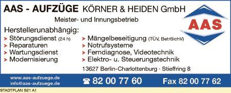 AAS Aufzüge Körner & Heiden GmbH