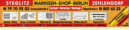Gundlack, Bernd - Markisen-Shop-Berlin