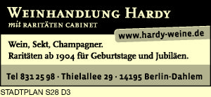 Hardy, Weinhandlung