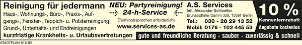 A.S. Services, Inh. Alexander Schloeßer