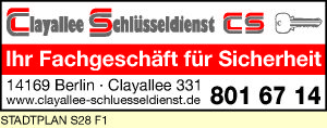 Clayallee Schlüsseldienst GmbH