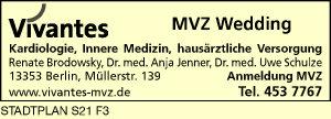 Brodowsky, Renate, Jenner, Anja, Dr. med. u. Dr. med. Uwe Schulze - Vivantes MVZ