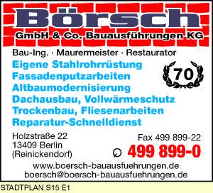 Bild 1 Börsch GmbH & Co. Bauausführungen KG in Berlin-Reinickendorf