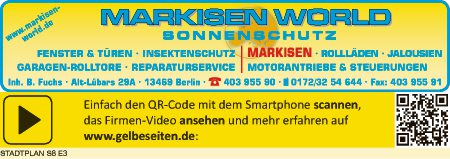 Fuchs Markisen World