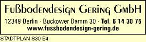 Fußbodendesign Gering GmbH