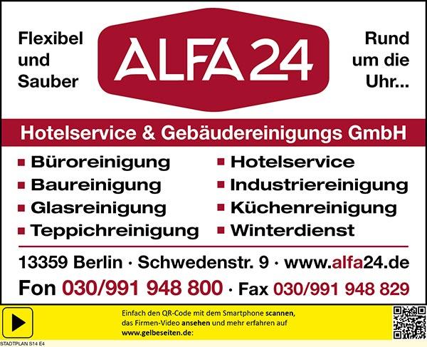 alfa24® Hotelservice & Gebäudereinigungs GmbH