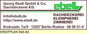 Ebell GmbH & Co. Dachdeckerei KG, Georg