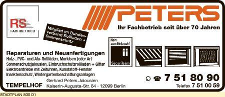 Peters Jalousien GmbH