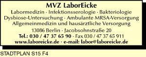 Eicke, MVZ Labor