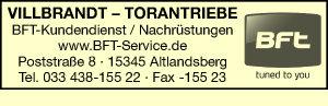 BFT-Kundendienst