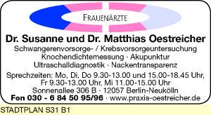 Oestreicher, Susanne und Matthias Dres. med.