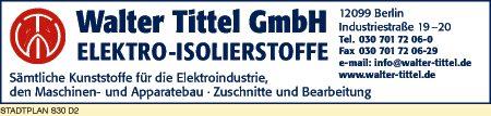 Tittel GmbH, Walter