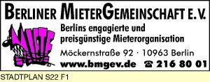 Berliner Mieter Gemeinschaft e.V.