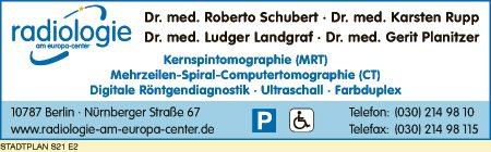 Schubert, Rupp, Landgraf und Planitzer, Dres.