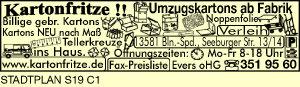 Evers oHG, Kartonfritze