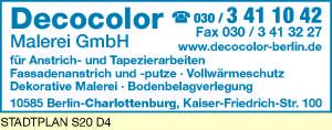 Decocolor Malerei GmbH