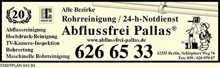 Abflussfrei Pallas®