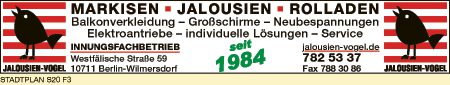 Jalousien-Vogel
