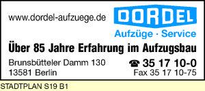 Dordel Aufzüge - Service