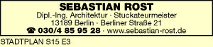 Logo von Sebastian Rost Meister und Restaurator im Stuckateurhandwerk GmbH