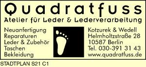 Quadratfuss, Kotzurek & Wedell