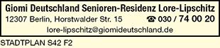 Giomi Deutschland Senioren-Residenz Lore-Lipschitz