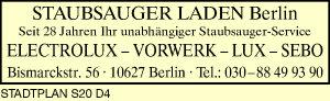 Staubsauger Laden Berlin