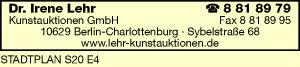 Dr. Irene Lehr Kunstauktionen GmbH