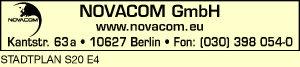 Logo von NOVACOM GmbH