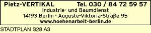 Pietz-VERTIKAL (Industrie & Baumdienst)