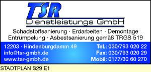 TSR Dienstleistung GmbH