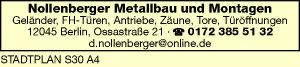 Nollenberger Metallbau & Montagen