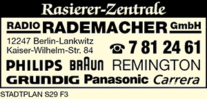 Logo von Radio Rademacher GmbH