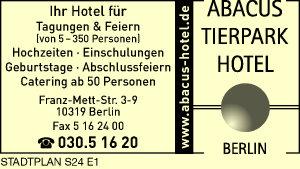 Logo von Abacus Tierpark Hotel Berlin