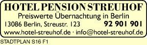 Logo von Hotel Pension Streuhof