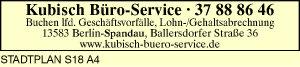 Logo von Kubisch Büro-Service