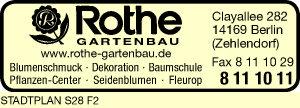 Logo von Rothe Gartenbau