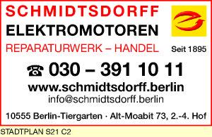 Logo von Schmidtsdorff Elektromotoren