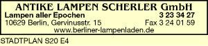 Logo von Antike Lampen Scherler GmbH