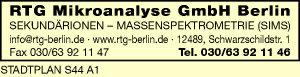 Logo von RTG Mikroanalyse GmbH Berlin